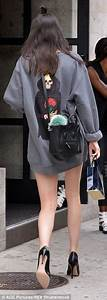 Kendall Jenner in Kanye West tour jumper and is excited ...