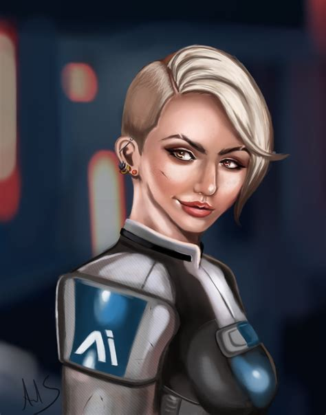 mass effect andromeda cora harper by whatalisaid on deviantart