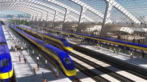 california high speed rail route approved zdnet