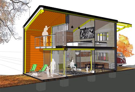 Cardiff Architect Designs Self-build Home Which Costs Just