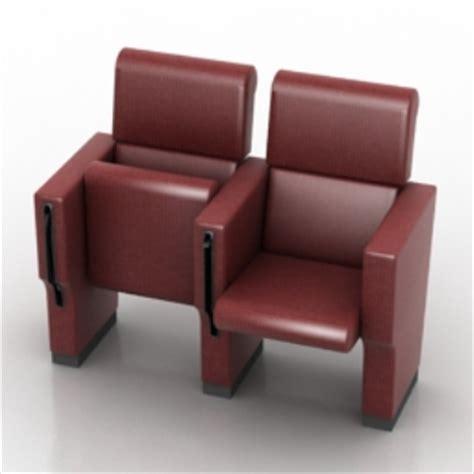 cinema seats 3d models 3d model free 3d models