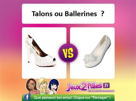 jeux de cuisine gratuits pour les filles quelles chaussures mettre ballerines ou talons hauts