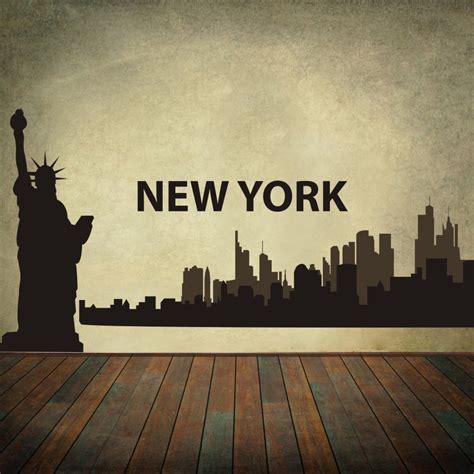 aliexpress buy new york city skyline silhouette the