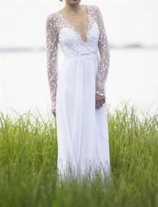 romantic bohemian dress size 3 wedding dress oncewedcom With used boho wedding dresses