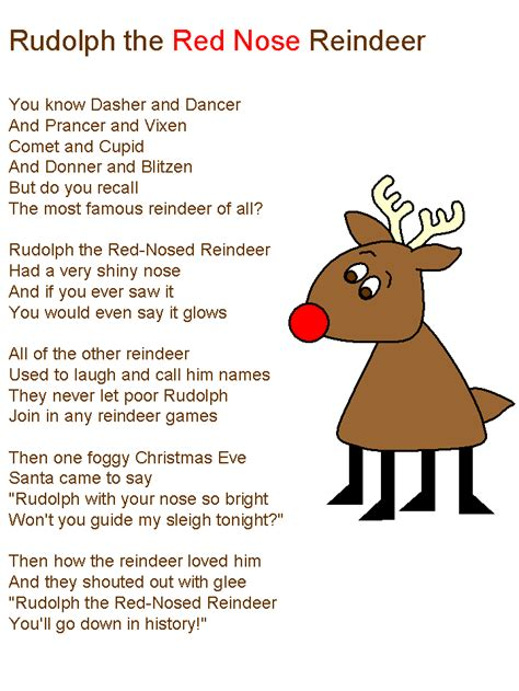 Pin The Nose On Rudolph Template