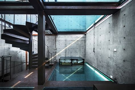 L'atelier Home Design : Shanghai's Vertical Glass House By