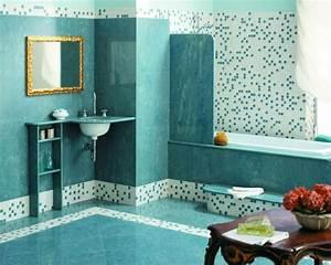 Meuble Salle De Bain Turquoise : 1001 designs uniques pour une salle de bain turquoise ~ Dailycaller-alerts.com Idées de Décoration