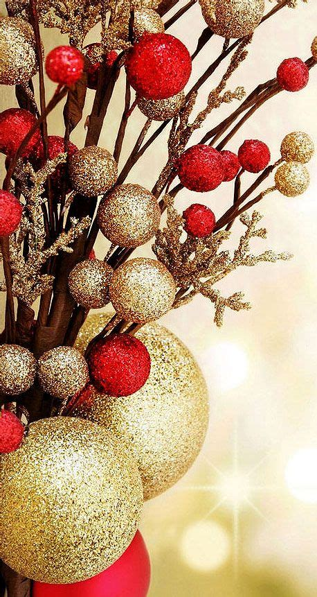 images  red  gold christmas decorations