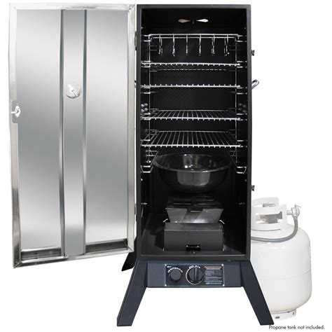 gas smoker masterbuilt 30 quot electric digital smoker with window and rf remote 617557 grills smokers at