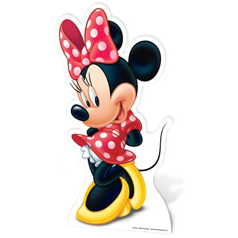 Minnie Mouse Large Cardboard Cut Out New 100 Official Ebay
