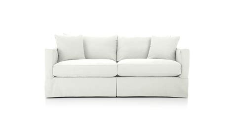 Willow Loveseat by Willow Sofa Crate And Barrel