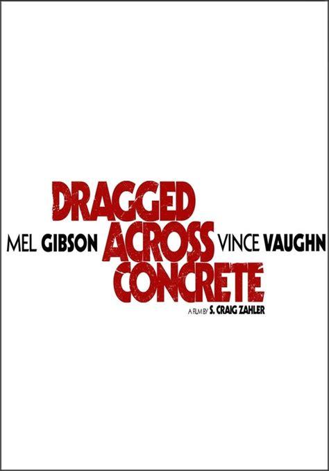 dragged  concrete