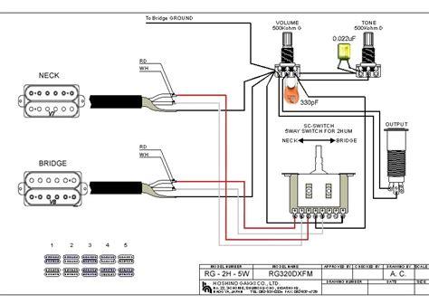 ibanez   wiring diagram dimarzio