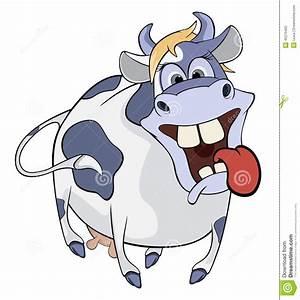 Blaue Kuh Magdeburg : gl ckliche blaue kuh karikatur vektor abbildung bild ~ Watch28wear.com Haus und Dekorationen