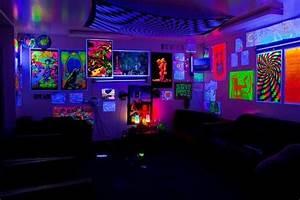 Neon Deco Chambre : neon bedroom decor room decorating ideas for designs 10 ~ Teatrodelosmanantiales.com Idées de Décoration
