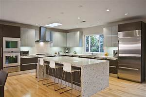 Rust granite kitchen traditional with kitchen island for Best brand of paint for kitchen cabinets with heron metal wall art