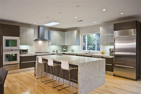 no upper cabinets in kitchen kitchen contemporary with