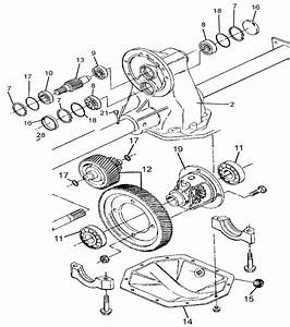 Ezgo Golf Cart Rear End Parts Diagram