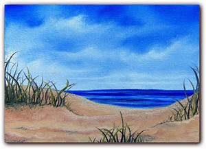 Go Back > Images For > Easy Beach Landscape Painting ...