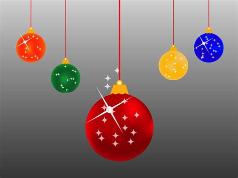 Christmas Balls Cartoon Vector Art & Graphics