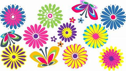 Flowers Clip Flower Clipart Border Mexican Floral