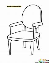 Coloring Chair Pages Armchairs Chairs Drawing Arm Clipart Armoire Templates Sketch Adult Colouring Printable Cartoon Sheet Table Dye Foods Math sketch template
