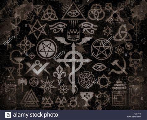 Segni Degli Illuminati by Medievale Segni Occulto E Magia Francobolli Sigils