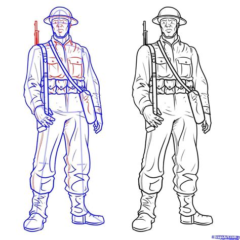 christmas soldier steps to drawyard sign soldier drawing easy at getdrawings free for personal use soldier drawing easy of your choice