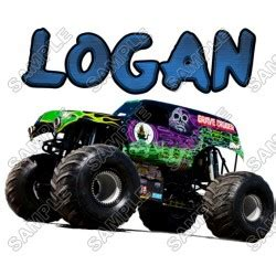 grave digger monster truck fabric blaze and the monster machines custom personalized t shirt
