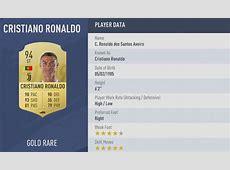 FIFA 19 player ratings Cristiano Ronaldo, Lionel Messi