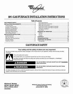 80  Gas Furnace Installation Instructions