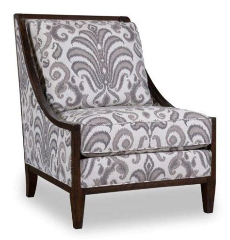 charcoal wood frame accent chair from 700554