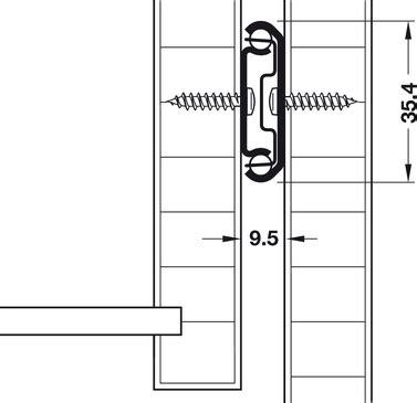 cassetto bidirezionale guida a sfera uscita parziale accuride 2026 uscita