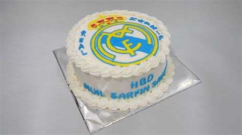 Real Madrid Birthday Cake Easy