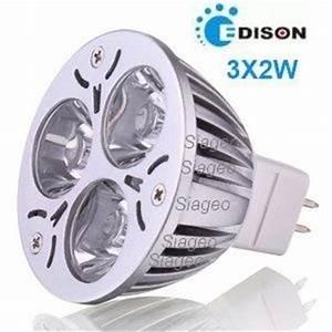 Ampoule Led Gu5 3 : ampoule led gu5 3 mr16 3x2w tri led 60 blanc neutre ~ Dailycaller-alerts.com Idées de Décoration