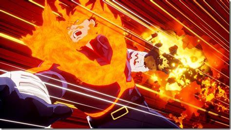 hero  justices deku shoot style  endeavor