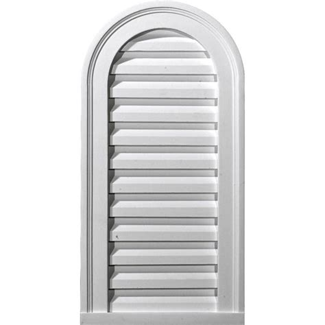 decorative gable vents nz ekena millwork gvca12x24d 12 quot w x 24 quot h x 1 7 8 quot p cathedral