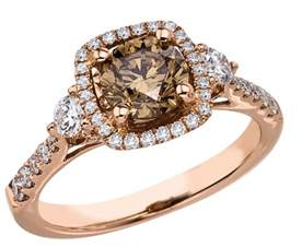chocolate diamonds wedding rings what 39 s the best engagement ring metal in comparison