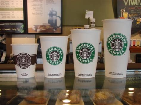 starbucks drink sizes comparing fast food drink sizes photos global grind