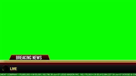 banner news template breaking news banner lyapovvfx youtube