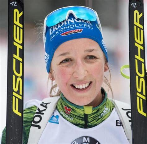 Пройсс франциска / franziska preuss. Preuß fällt erkrankt für Biathlon-Weltcup in Antholz aus ...