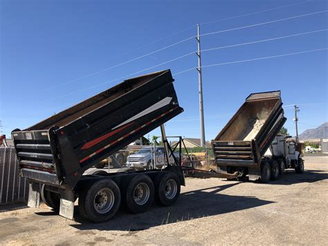 dms dump truck  axle pup set dogface heavy equipment sales dogface heavy equipment sales