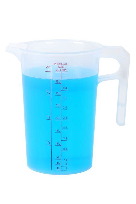 Oil Ratio Measuring Jug 1L from Storage Box