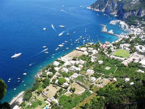 The Beautiful Island Of Capri Italy