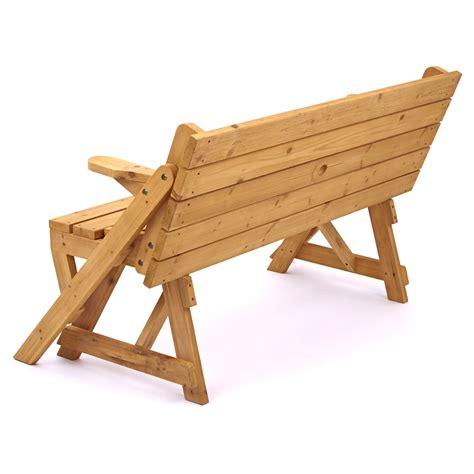 modbury convertible    picnic table  bench