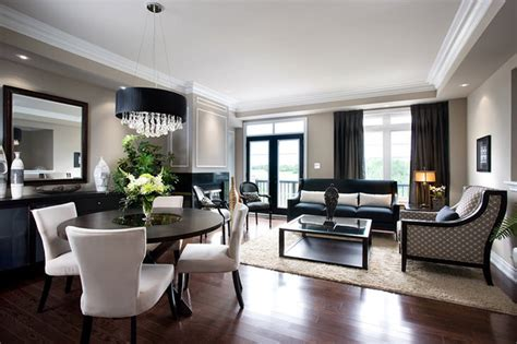 Living Room Condo Design : Jane Lockhart Condo Living/dining Room
