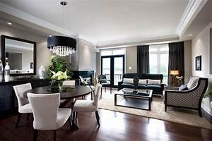 jane lockhart condo living dining room modern living With modern living and dining room design