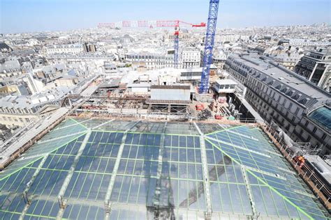 Samaritaine, the temple of parisian lifestyle, will propose. Rénovation de La Samaritaine, Paris - ConstruirAcier