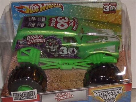 grave digger 30th anniversary monster truck toy toys