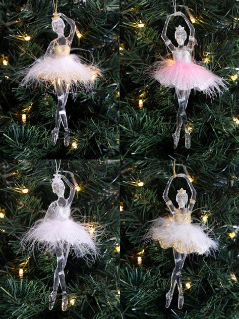 Ballerina Tree Decoration - gisela graham ballerina tree decoration